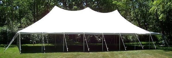 40 x 80 whit pole tent