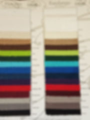 Fandango Table Linen Swatches