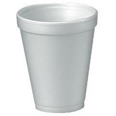 12oz Foam Cup (12J12) 1000/cs