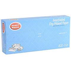 12x10.75 EZ-12 Handy Wacks® White Dry Waxed Deli Paper 12/500ct