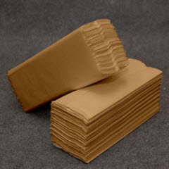 Natural Single-Fold Towels 4000/cs