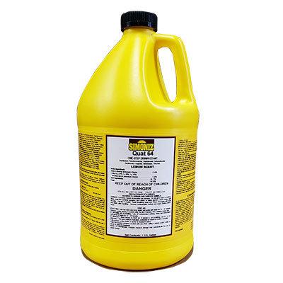 Simoniz® Quat 64 Lemon Germicidal Disinfectant 4/case
