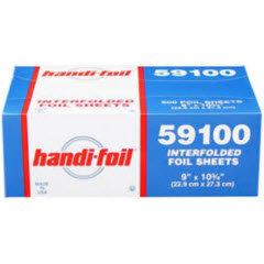9x10.75 Silver Handi-Foil® Interfolded Sheet 6/500ct