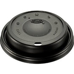 Black Cappuccino Lid (16ELBLK) 1000/case