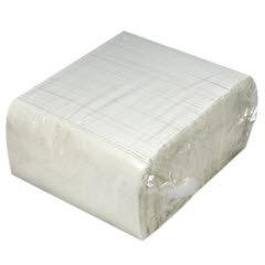 2-Ply White Dinner Napkin, Embossed 1/8 Fold (3000/Case)