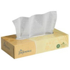 Compact Size Box 2-Ply Facial Tissue 30/100ct