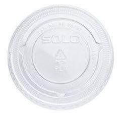 200PLC Lid for 2oz Plastic Souffle Cups 2500/ce