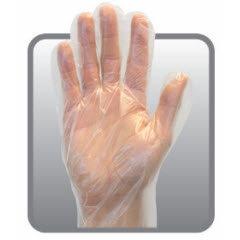 Large Poly Deli Gloves