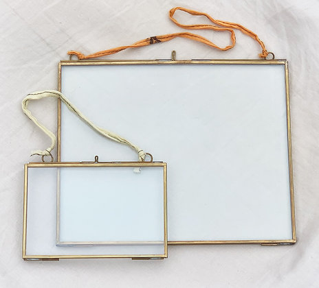 Kiko Antique Brass Frame