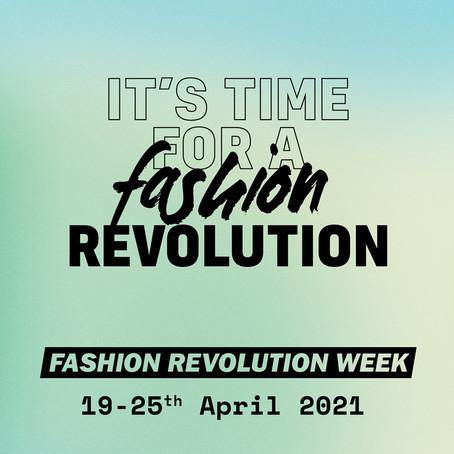 It's Fashion Revolution Week!