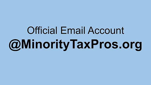 Email Account - @MinorityTaxPros.org