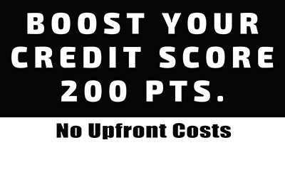 Boost Your Credit - Street Sign