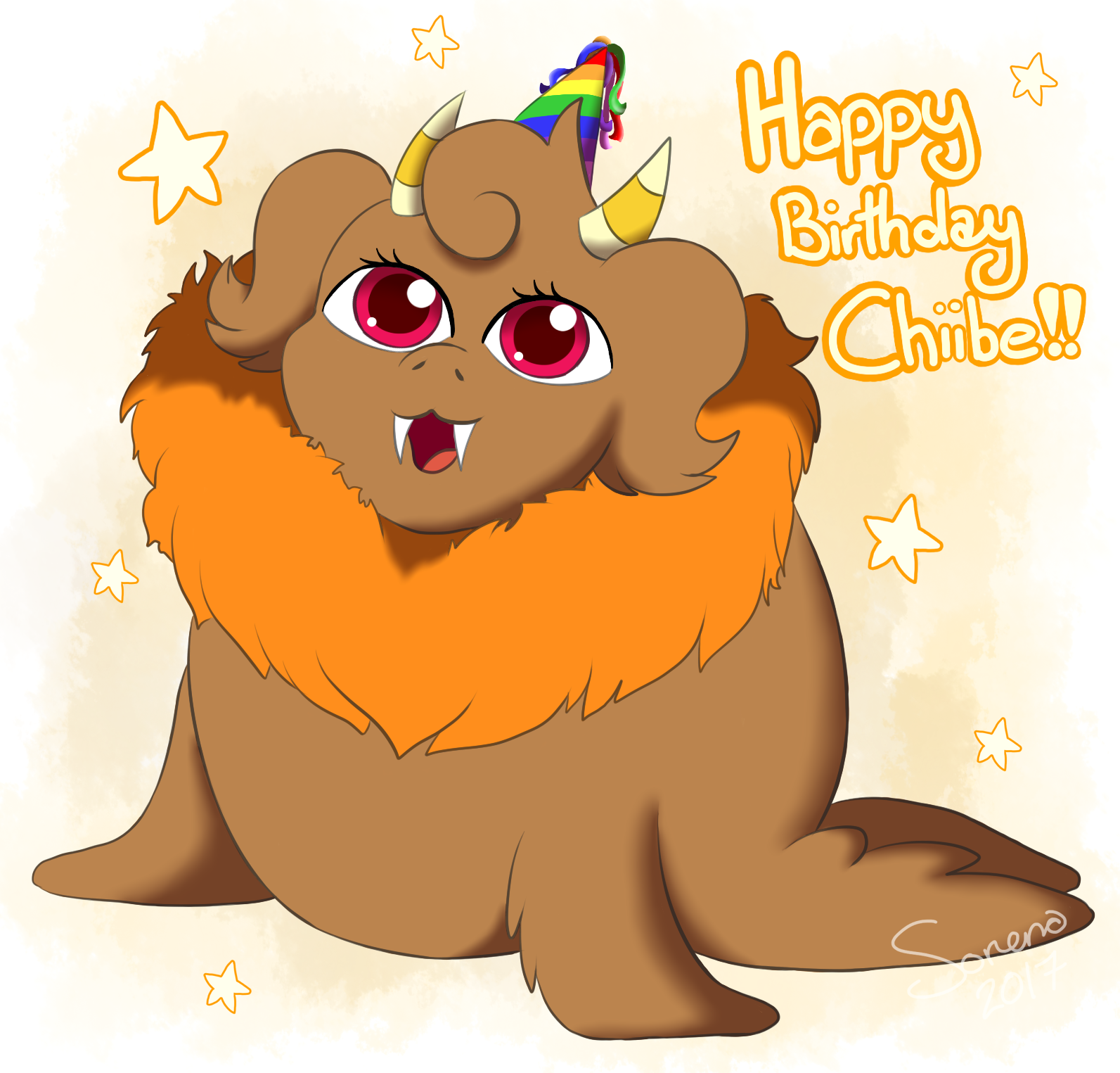 Happy birthday Chiibe