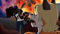 ShadowWolf Commission 2.0