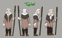 Tupilek Character Model Sheet