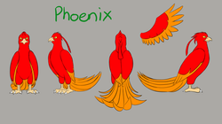Phoenix Character Model Sheet V.2