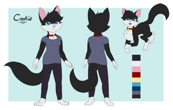 Cookie the Cat Reference Sheet