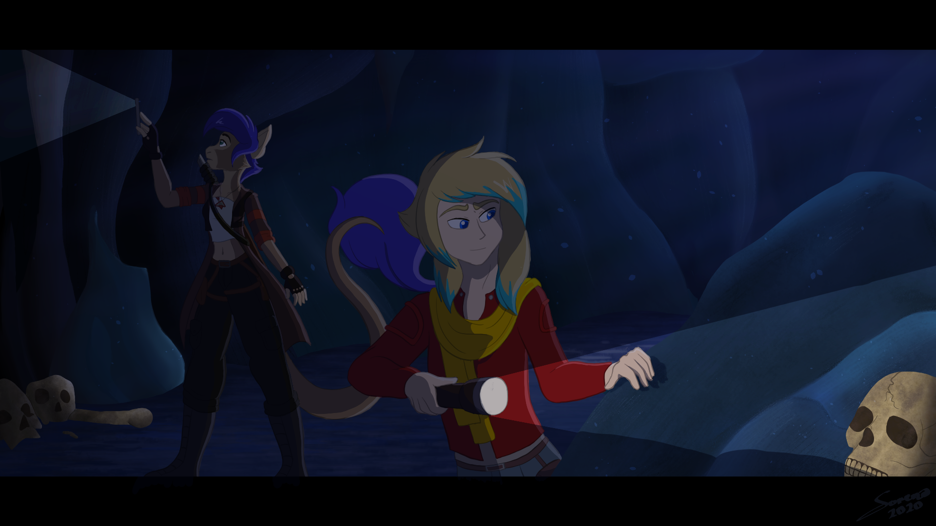 Cavern Exploring (Alex Commission)