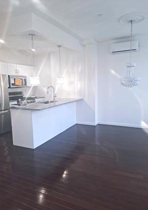 4th Floor Living Room & Kitchen