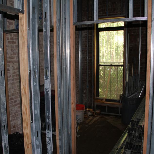 Second Floor Framing