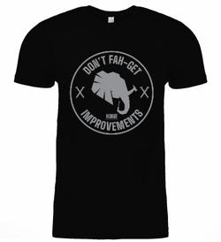Front Side Shirt Black