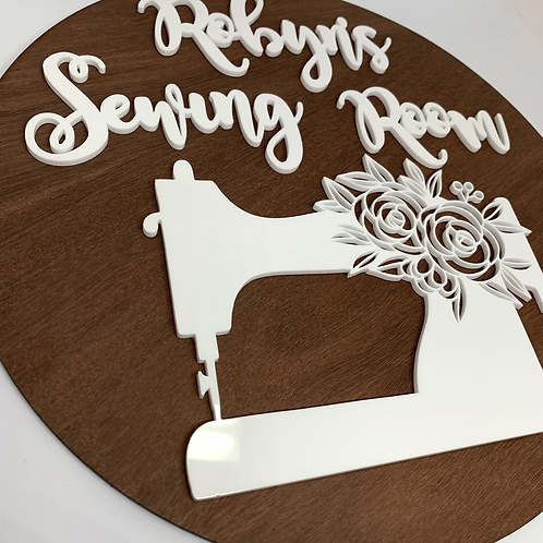 My Sewing Room sign