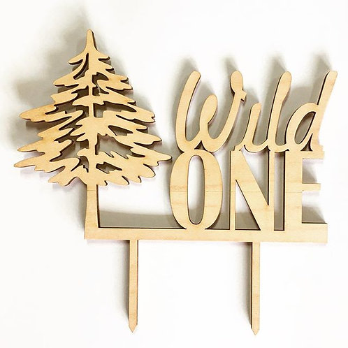 Wild One Tree Cake Topper