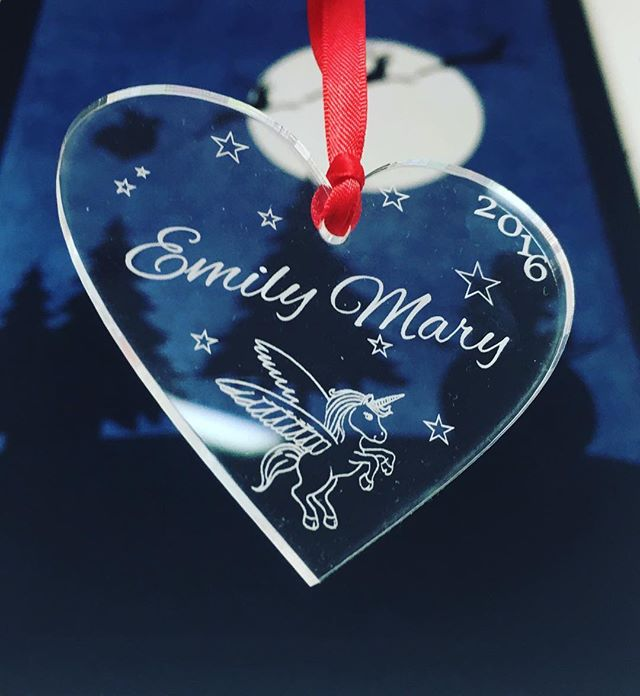 Another customised Christmas ornament