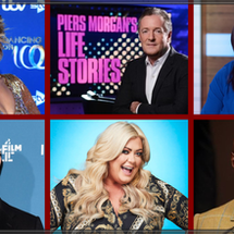 PIERS MORGAN'S LIFE STORIES RETURNS WITH NEW STAR GUESTS