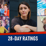 28-DAY RATINGS: 02-08 AUGUST 2021