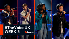 THE VOICE UK: WEEK 5 AUDITIONS (PICTURES)