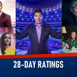 28-DAY RATINGS: 19-25 JULY 2021