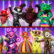 THE MASKED SINGER SERIES 2 CHARACTERS REVEALED (PICTURES)