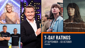 7-DAY RATINGS OVERVIEW: 27 September-03 October 2021
