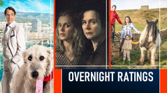 OVERNIGHT RATINGS: TUESDAY 13 APRIL 2021
