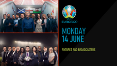 EURO 2020 TODAY: Monday 14th June