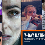 7-DAY RATINGS OVERVIEW | 30 August - 05 September 2021