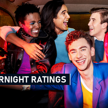 OVERNIGHT RATINGS: IT'S A SIN, CHANNEL 4