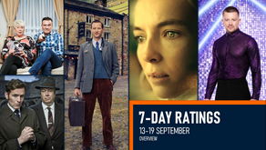 7-DAY RATINGS OVERVIEW: 13-19 SEPTEMBER 2021