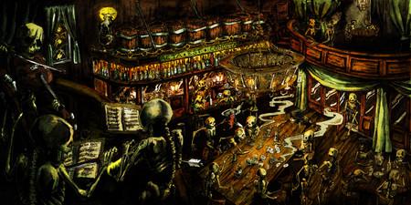 """Illustration """"Death after midnight"""""""