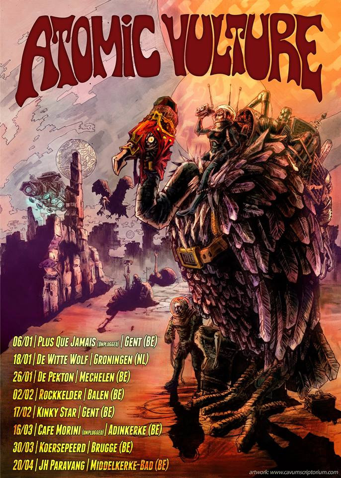 Poster design Atomic Vulture