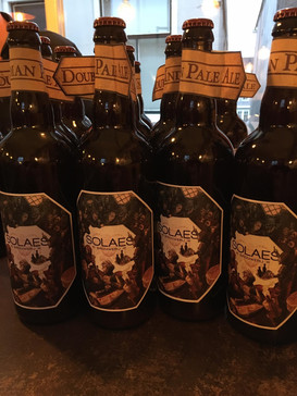 Solaes Beer label