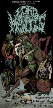 poster art for Roadburn Lord Mantis