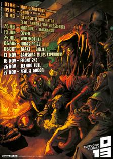 013 program poster