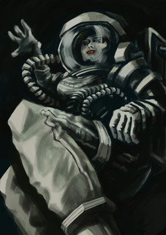 The space lady