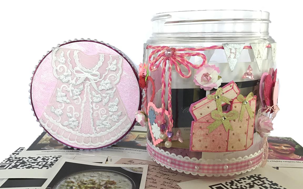 Baby birthday jar