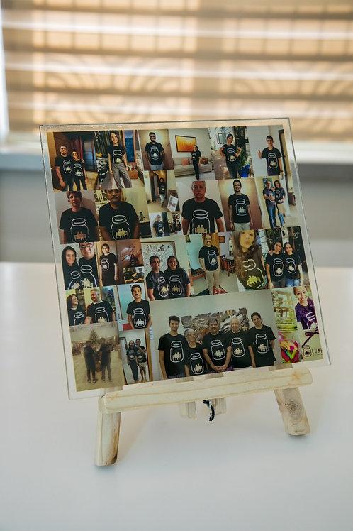 The Glass Print