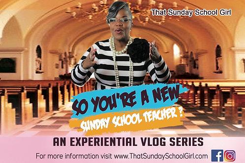 😱🎉So You're A New Sunday School Teacher?
