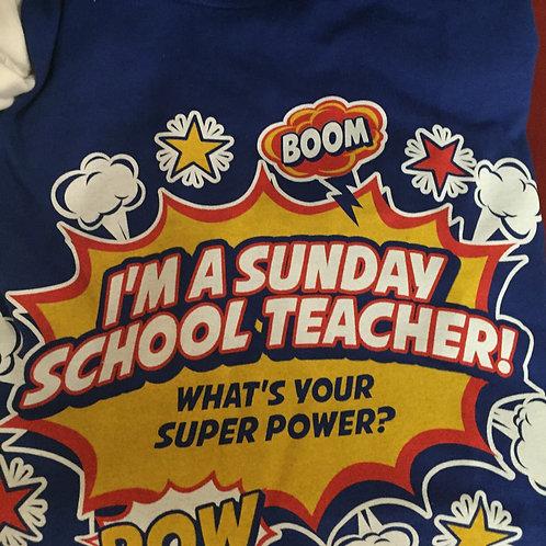 RETIRING DESIGN: Super Power Shirt