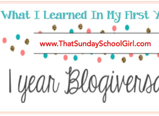 My 1st Blogiversary Reflection... What I Learned In My First Year!